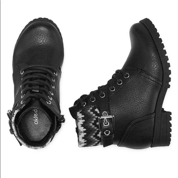 5b8ba4364920 NWT Okie dokie girls boots